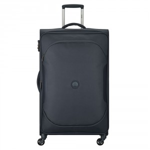 Delsey U-Lite Classic 2 Expandable Trolley Case 4 Wheel 79 Anthracite