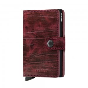 Secrid Mini Wallet Portemonnee Dutch Martin Bordeaux