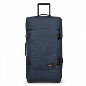 Eastpak Tranverz M Trolley Double Denim TSA