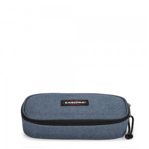 Eastpak Oval Etui Double Denim