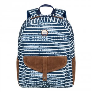 Roxy Carribean Rugzak Blue Depths Olmeque Stripe