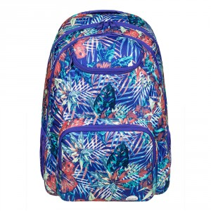 Roxy Shadow Swell Backpack Royal Blue Beyond Love