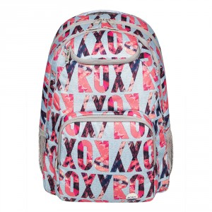 Roxy Shadow Swell Backpack Ax Heritage Heather Liquid Let