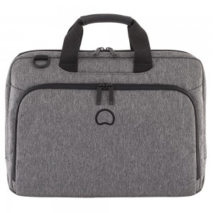 """Delsey Esplanade Laptop Bag 1-CPT 15.6"""" Anthracite"""