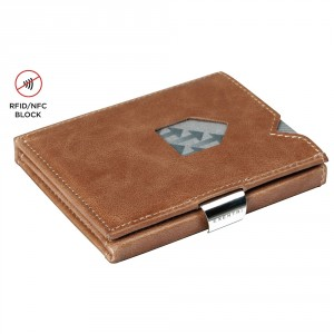Exentri Wallet met RFID Bescherming Sand