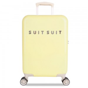 SuitSuit Fabulous Fifties Handbagage Spinner 55 Mango Cream