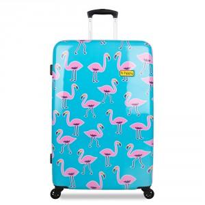 BHPPY Koffer 77 Go Flamingo