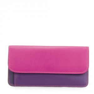 Mywalit Simple Flapover Purse/Wallet Portemonnee Sangria Multi