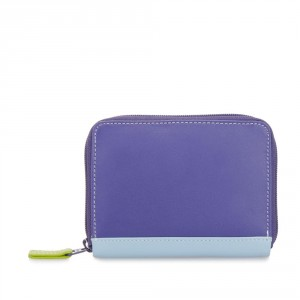 Mywalit Zip Around Credit Card Holder Lavender
