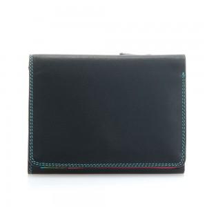 Mywalit Medium Tri-Fold Wallet Portemonnee Black/ Pace