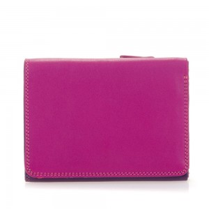 Mywalit Small Tri-Fold Wallet Portemonnee Sangria Multi