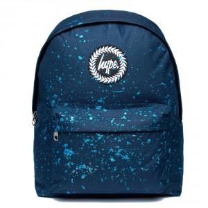 Hype Speckle Rugzak Navy/ Blue Metallic