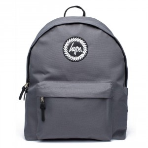 Hype Badge Rugzak Charcoal