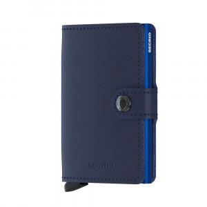 Secrid Mini Wallet Portemonnee Original Navy Blue