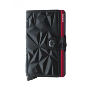 Secrid Mini Wallet Portemonnee Prism Black Red