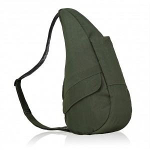 The Healthy Back Bag The Classic Collection Textured Nylon S Deep Forest