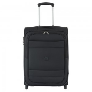 Delsey Indiscrete Slim Cabin Trolley 2 Wheel 55 Black