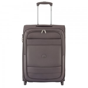 Delsey Indiscrete Slim Cabin Trolley 2 Wheel 55 Marron Glace