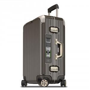 Rimowa Limbo Trolley Multiwheel 67 Electronic Tag Granite Brown