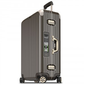 Rimowa Limbo Trolley Multiwheel 77 Electronic Tag Granite Brown