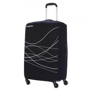 Samsonite Travel Accessoires Opvouwbare Kofferhoes L Black