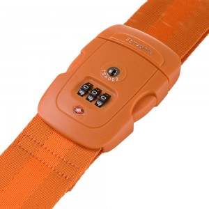 Samsonite Travel Accessoires TSA Cijferslot Kofferriem Orange