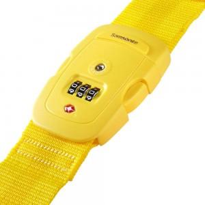 Samsonite Travel Accessoires TSA Cijferslot Kofferriem Yellow