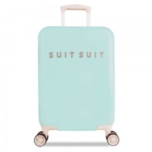 SuitSuit Fabulous Fifties Handbagage Spinner 55 Luminous Mint