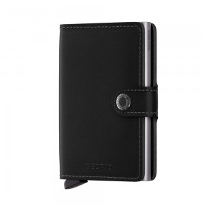 Secrid Mini Wallet Portemonnee Original Black