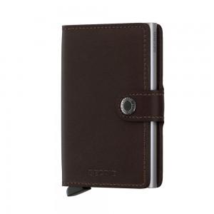 Secrid Mini Wallet Portemonnee Original Dark Brown