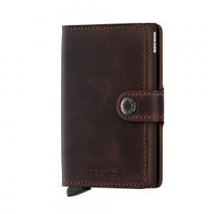 Secrid Mini Wallet Portemonnee Vintage Chocolate