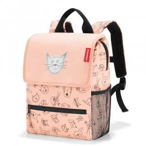 Reisenthel Backpack Kids Cats And Dos Rose