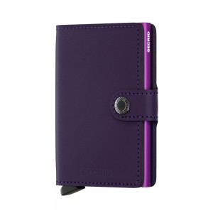 Secrid Mini Wallet Portemonnee Matte Purple