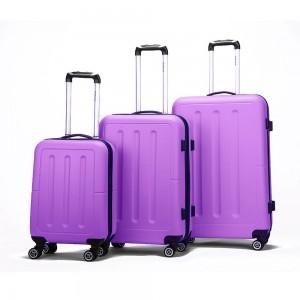 Decent Neon Fix 3-Delige Kofferset Purple