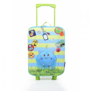 Okiedog Wildpack Koffer Trolley Large Hippo