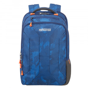 "American Tourister Urban Groove UG Backpack 2 15.6"" Camo Blue"