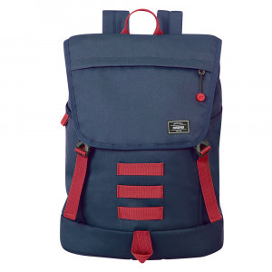 """American Tourister Urban Groove UG Lifestyle Backpack 3 15.6"""" Navy/ Red"""