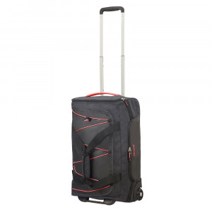 American Tourister Road Quest Duffle Wheels 55 Graphite/ Pink