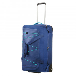 American Tourister Road Quest Duffle Wheels 67 Deep Water Blue
