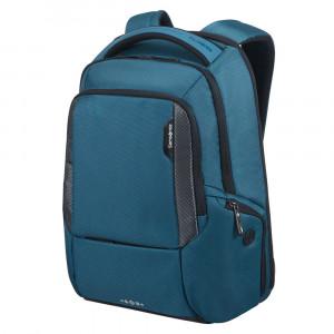 "Samsonite Cityscape Tech Laptop Backpack 14"" Expandable Petrol Blue"