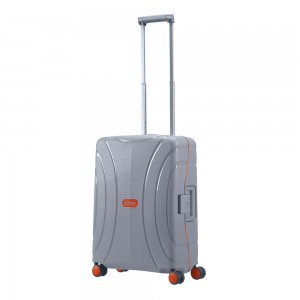 American Tourister Lock 'N' Roll Spinner 55 Volt Grey
