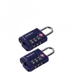 Samsonite Travel Accessoires Safe US Air Tr. 3 Combi Lock Indigo Blue