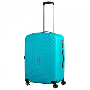 American Tourister Air Force 1 Spinner 66 Exp Aero Turquoise