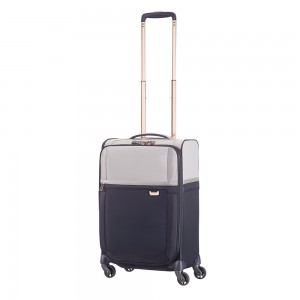 Samsonite Uplite Spinner 55 Expandable Pearl/Blue