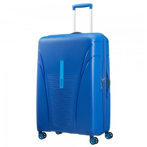 American Tourister Skytracer Spinner 82 Highline Blue