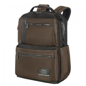 "Samsonite Openroad Weekender Backpack 17.3"" Chestnut Brown"
