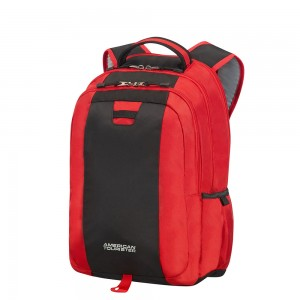 "American Tourister Urban Groove UG3 Laptop Backpack 15.6"" Red"