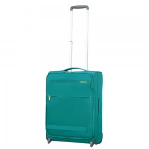 American Tourister Herolite Super Light Upright 55 Cactus Green