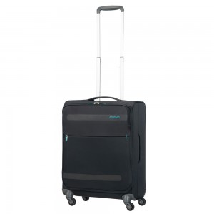 American Tourister Herolite Super Light Spinner 55 Volcanic Black