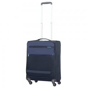 American Tourister Herolite Super Light Spinner 55 Midnight Blue